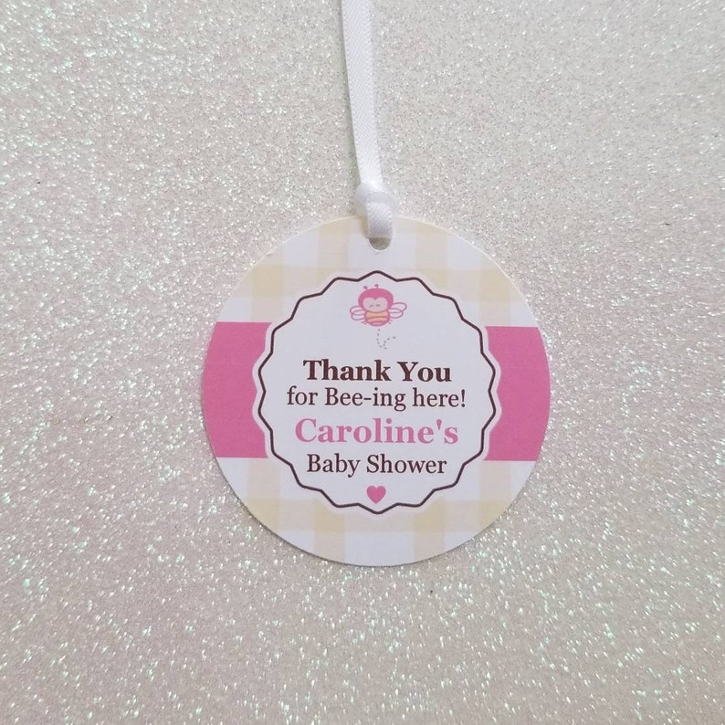 60 PERSONALIZED satin RIBBONs Party Wedding Baby Shower Favor