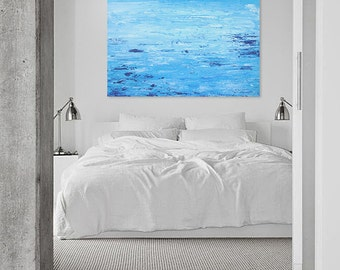 Abstract Painting, Original Painting, Sea, Home decor, Wall art, Blue, Sea Painting, Acrylic painting, Water, Acrylic painting, Canvas, Art