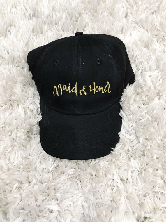Maid of Honor Hats | Bridesmaid Hats | Bachelorette Party Hats