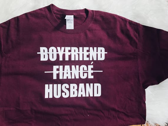 Boyfriend to Husband Tee