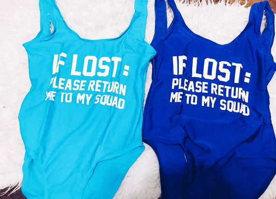 Please Return Me To My Squad Swimsuit