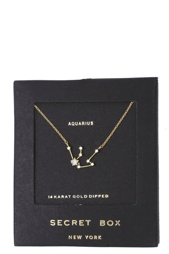 Zodiac Constellation Necklace | Horoscope Necklace | Constellation Necklace