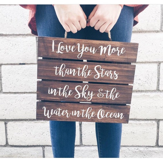 I have found the one whom my soul loves // wedding sign // wedding decor