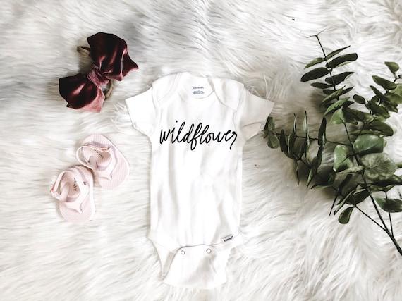Wildflower Onesie