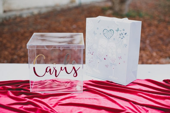 Custom Acrylic Card Box