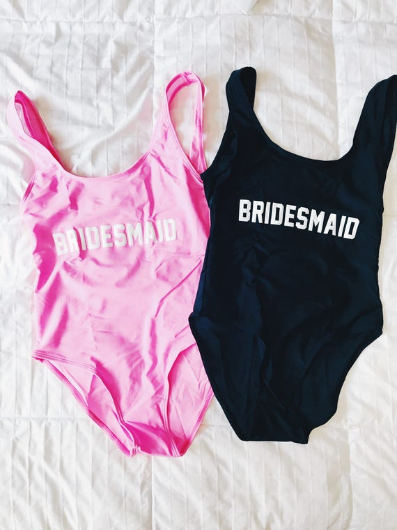 Bridesmaid Bathing Suit | Bridesmaid Swimwear | Bridesmaid Swimsuit Gift