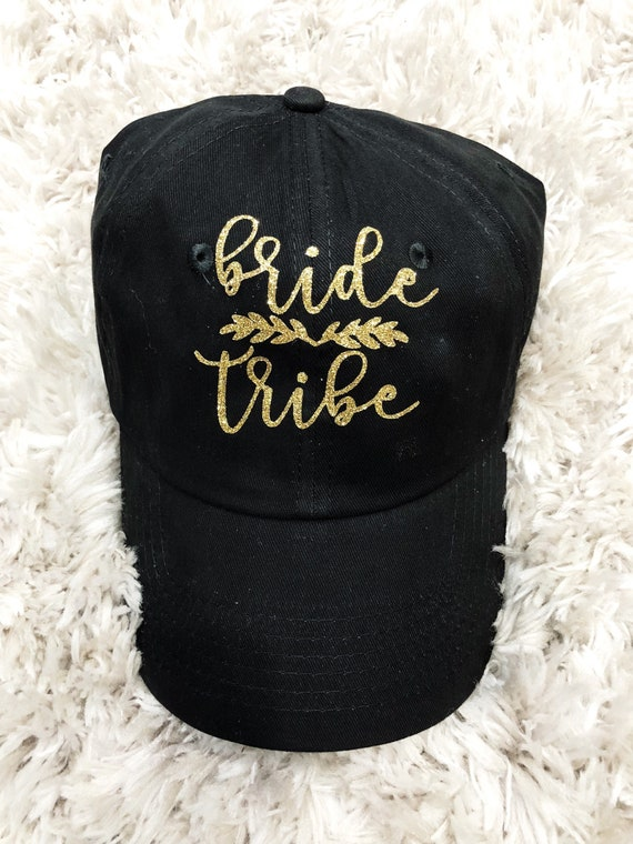 Bride Tribe Hats | Custom Hats | Bridesmaid Hats
