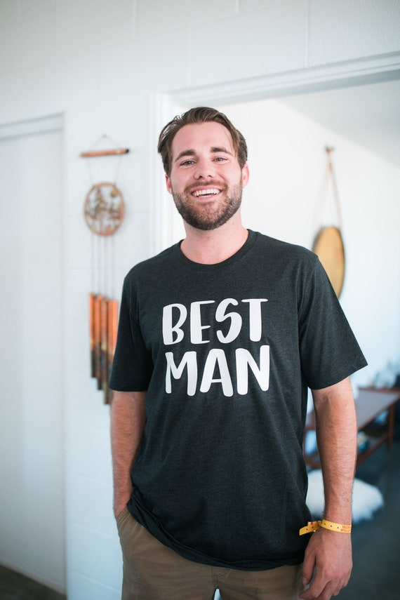 Best man tee | best friends tee | wedding gift | groomsmen gift