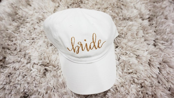 Bride Hat | Bride Cap | Bride Baseball Hat Cap