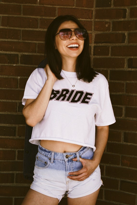 Bride Block Tee | Bride Crop Tee | Bride
