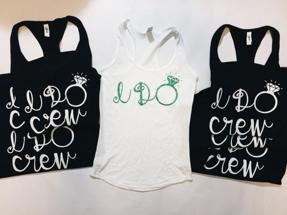I Do Crew Tanks || Bachelorette Party Tank tops