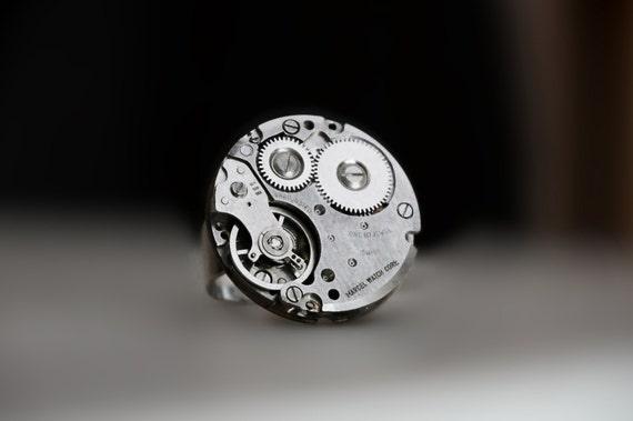 Steampunk BDSM anneau de bijoux antiques vintages horlogère   Etsy bb46d56600b7