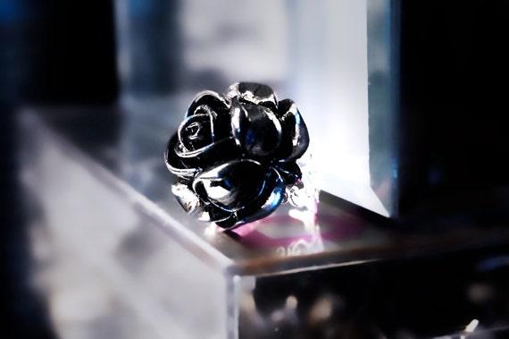 schwarze rose gotische sklavenarmbinde