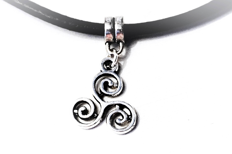 Triskele Symbol Submissive Collar Bdsm Emblem