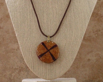 Wood Pendant Necklace for Men | Wood Necklace for Men