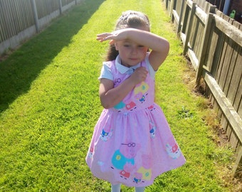 Peppa Pig Dress Etsy