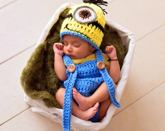 caf847ac82d Baby minion costume