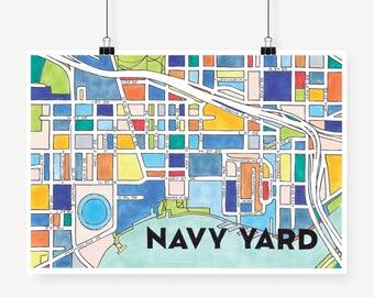 Navy Yard Dc Etsy