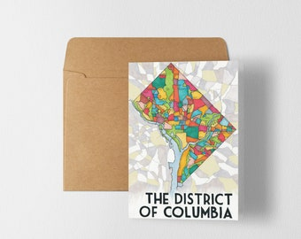 District Greeting Card