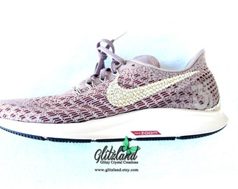 a132f0da7b1b SWAROVSKI® Women Nike Air Zoom Pegasus 35 Shoes Customized with SWAROVSKI®  Crystals