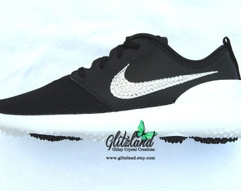 987e91e38e11 Swarovski Nike Roshe G Womens Golf Shoes Customized with SWAROVSKI®  Crystals - Many Colors Available!