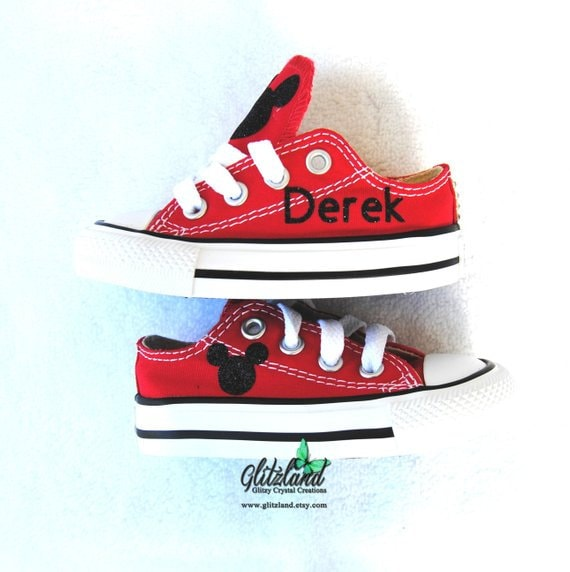 Perfekt Converse Chuck Taylor All Star Mickey Mouse W