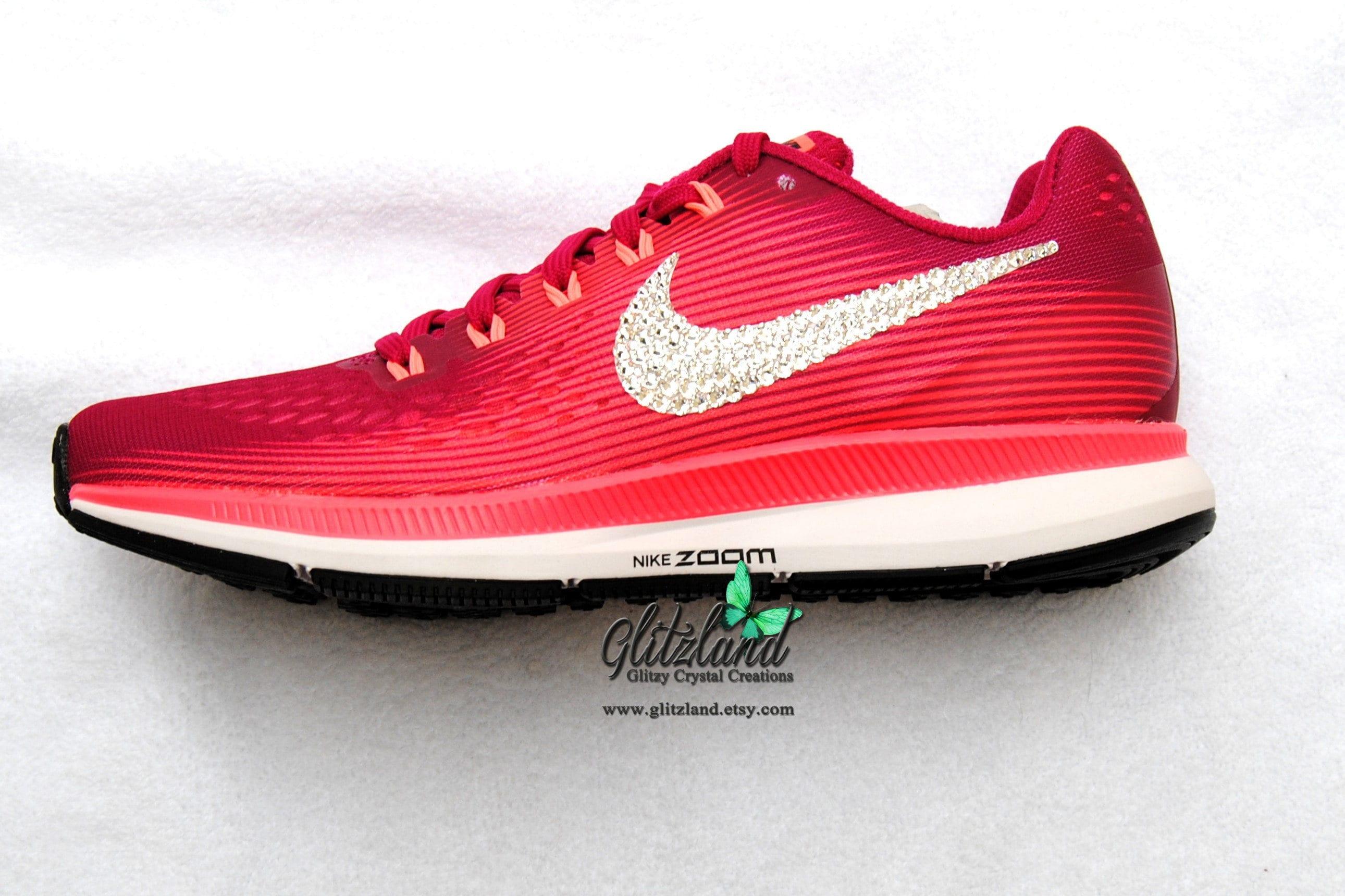 Swarovski Sport Fuchsia   Pink Nike Air Zoom Pegasus 34  71e6b51d31