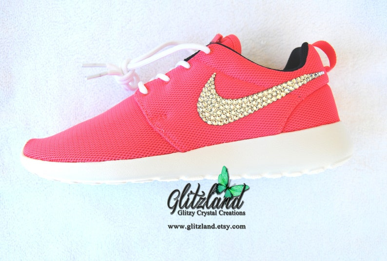 cc29cc0062e42 Swarovski Women Nike Roshe Customized with SWAROVSKI®