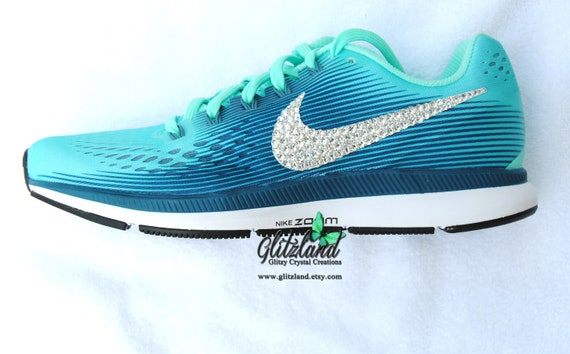 Swarovski Nike Air Zoom Pegasus 34 Customized with SWAROVSKI® Crystals Many  Colors Available b38a63c62c0