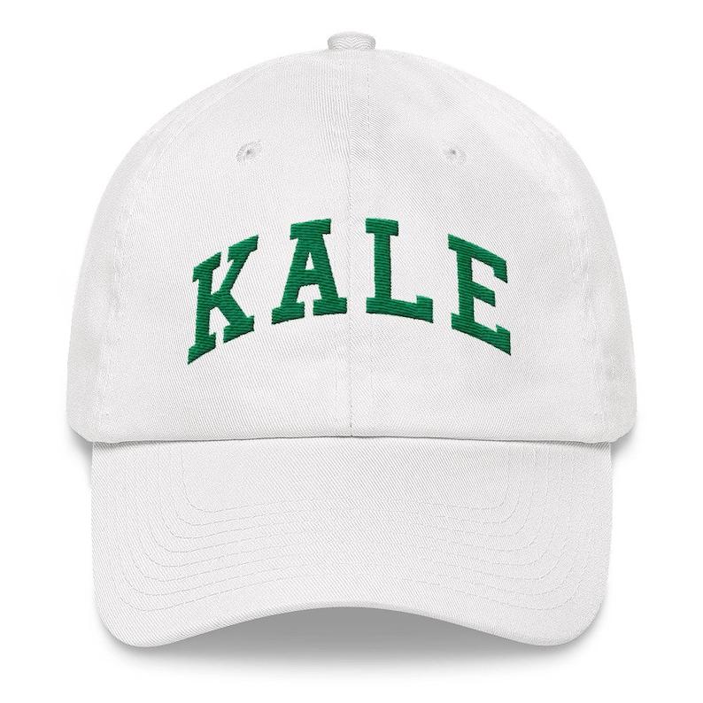 62eccbaa05426 KALE Hat Vegan Dad Hat Kale Baseball Cap Vegan Gift