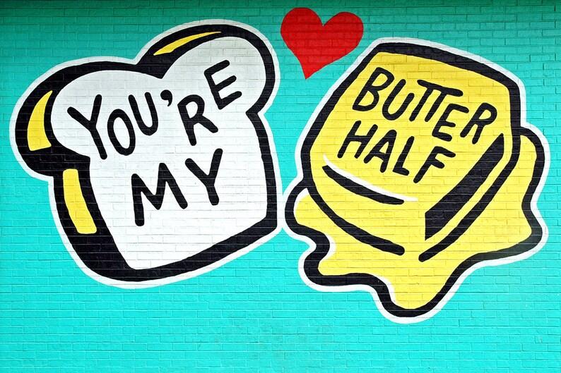 BUTTER HALF  Handmade 5x7 Photo Greeting Card  Card Stock image 0