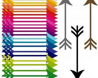Color Arrow Clipart Etsy