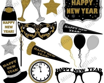 60 off sale happy new year clipart new years eve clipart vector graphics new year clipart clip art commercial use m467