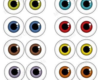 monster eye etsy rh etsy com Little Monster Clip Art monster eyeballs clipart
