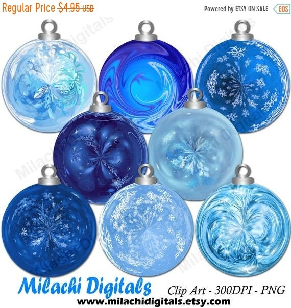 Etsy Christmas Ornaments.70 Off Sale Christmas Ornaments Clipart Holiday Ornaments Clipart Ornament Clip Art Digital Elements Commercial Use M427