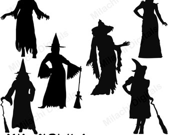 halloween silhouette digital clip art headless horseman rh etsy com  headless horseman clipart free