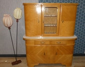 Top preserved 50s 60s Kitchen Cupboard Reopal fifties mid Century Cupboard