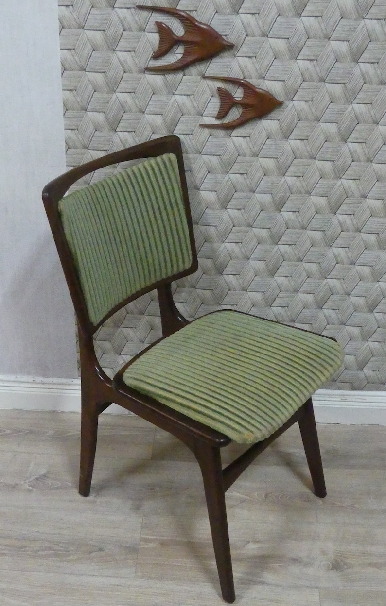 1960s Dining Room Chair Scandinavian Design Style Cover
