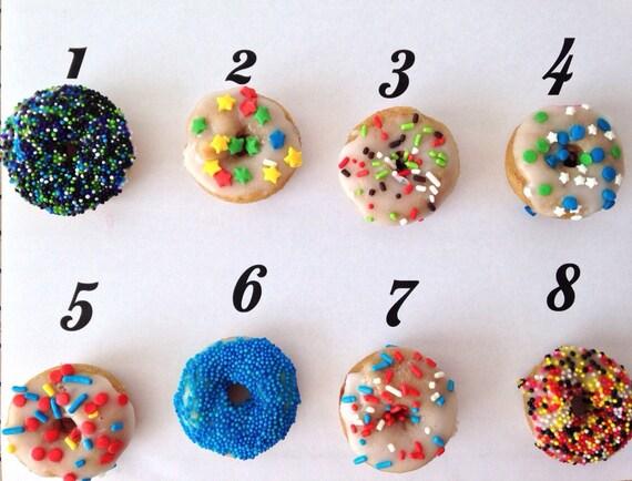 Party Sprinkles mini donuts