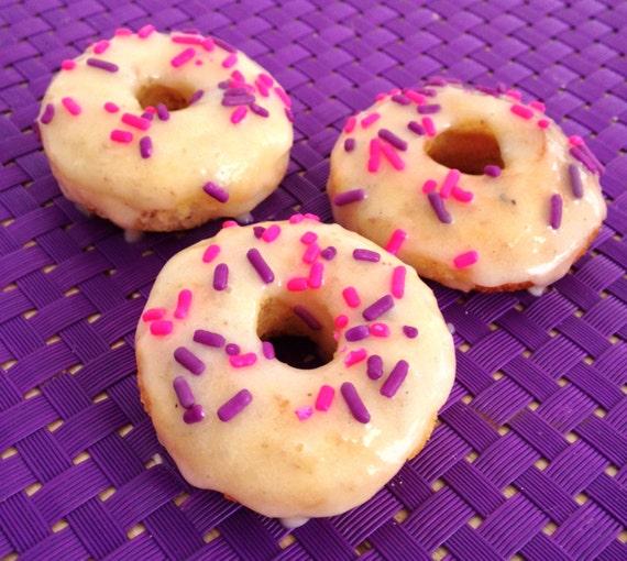 Almond Girly Sprinkles mini donuts Copy