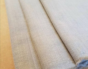 English Linen Scandi Ziggy -DUCK EGG English Fabric Modern Scandi Linen Curtain Fabric