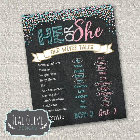 Versatile image for gender reveal printable