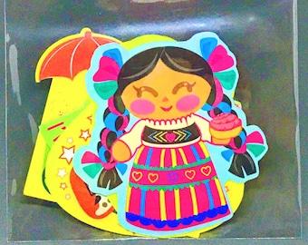Pan Dulce Pals Sticker Pack - Elote Friends