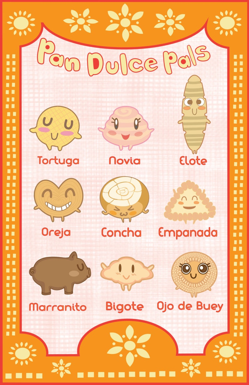 Pan Dulce Pals 11x17 poster image 0
