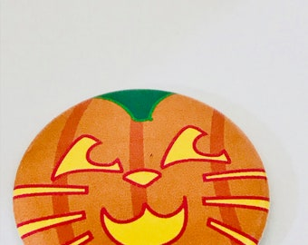 Pumpkin Cat Button