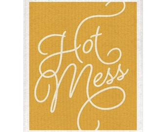 Hot Mess Dishcloth