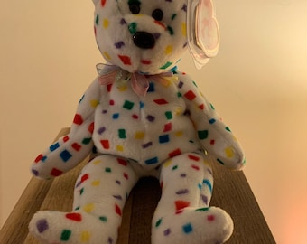 1999 Ty 2k beanie baby - PE pellets - MINT condition 77d27b9867