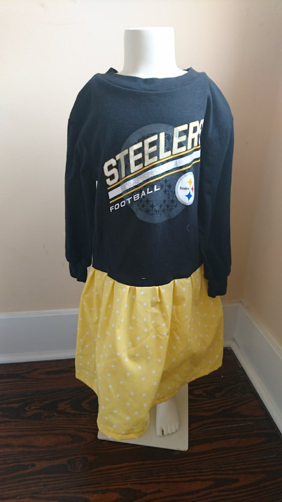 79d549bb7 Steelers Dress Black and Gold Pittsburgh Steelers long sleeved