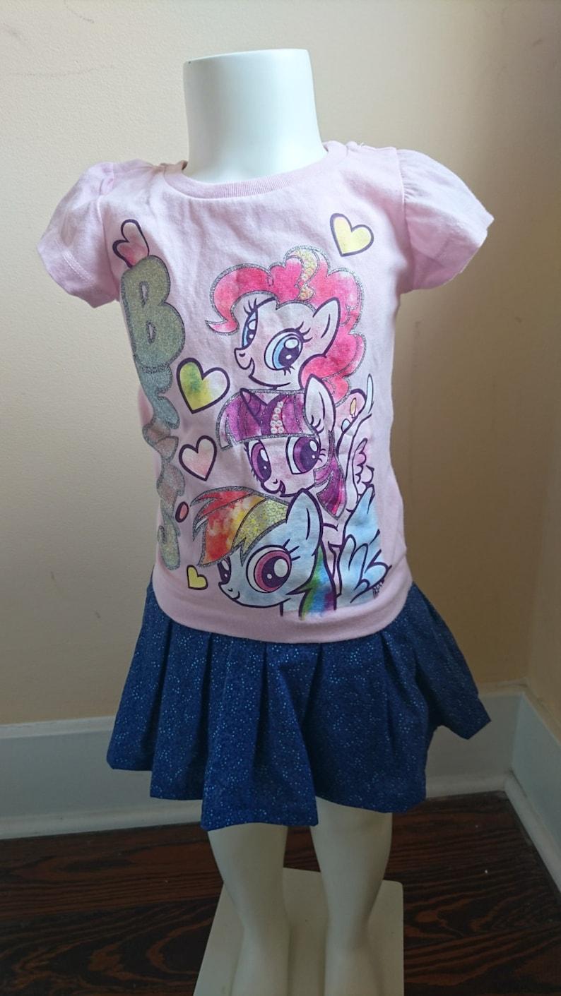 f7922723f5a7 My Little Pony Dress Pink blue My Little Pony BFFs toddler | Etsy
