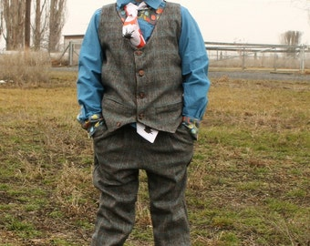 Bradley Vest and Spencer Slacks PDF Sewing Pattern Bundle